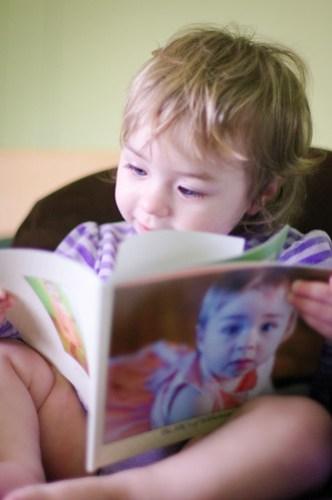Loving her book :)