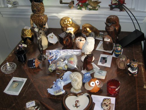 Table of owls