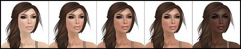 Glam Affair Mary Skin Tone Options