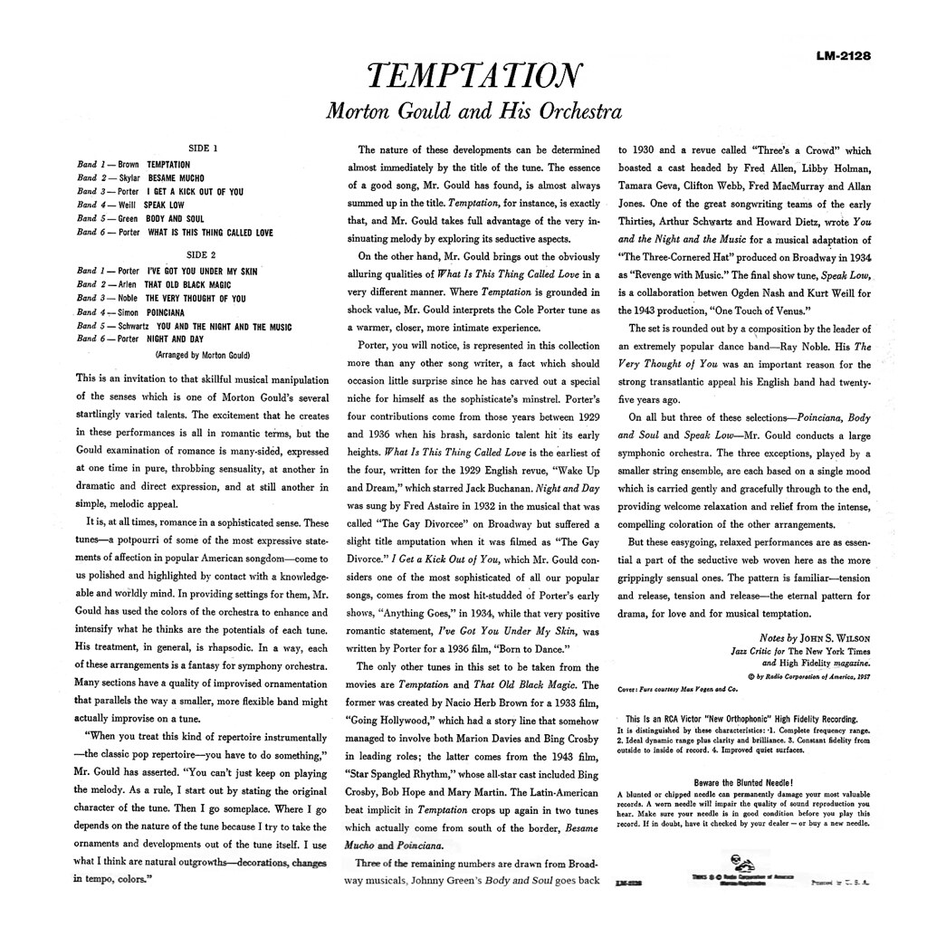 Morton Gould - Temptation