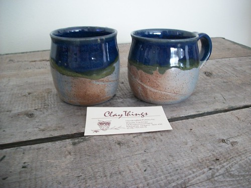 My two Clay Things mugs!