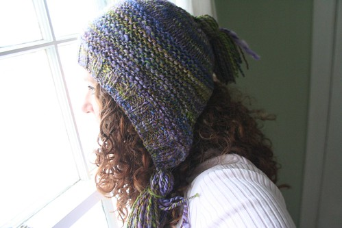 knitted :: Handspun Capucine
