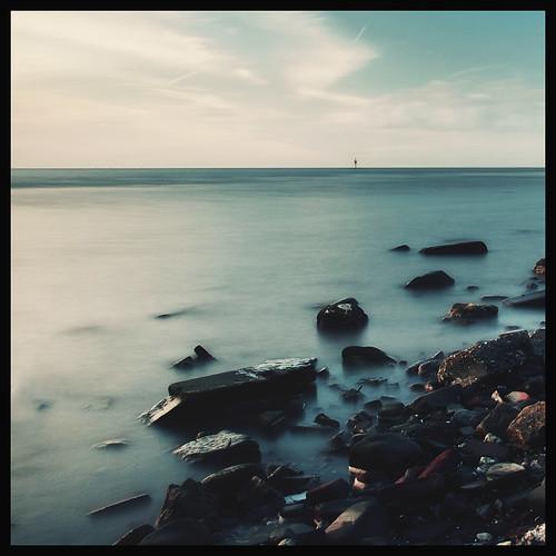Bricks and water, Crosby. Explored by Ianmoran1970