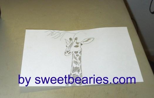 My Giraffe Sketch: Part 1