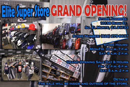 grand opening flyer copy