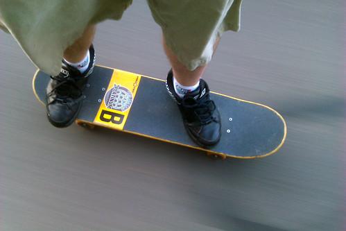 ds106 Field Recording 14 Suburban Skateboarding