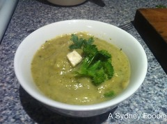 Recipe: Broccoli, Zucchini and Blue Cheese Soup by A Sydney Foodie