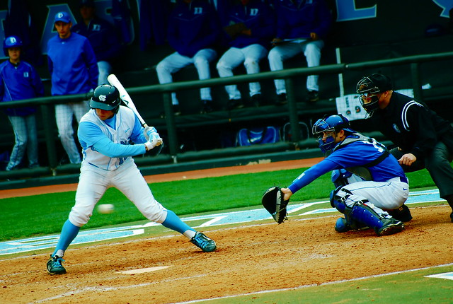 college baseball: duke @ unc