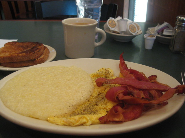 Rainbow Restaurant Breakfast Special - Get there before 8am.