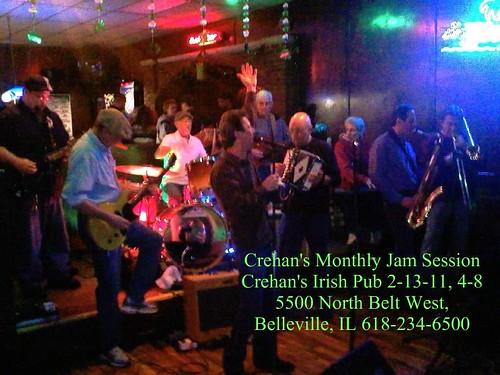 Crehan's Sunday Jam 2-13-11