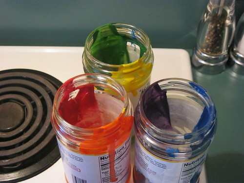 Even the prep is colorful!