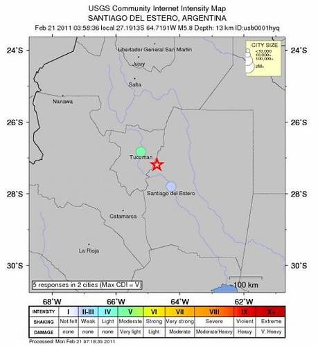 terremotoTucuman