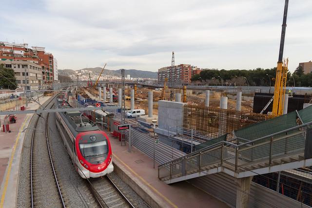 Estació de Sant Andreu - Norte - 22-02-11