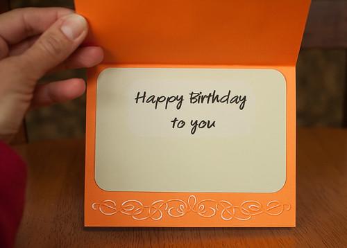 Malaika's card