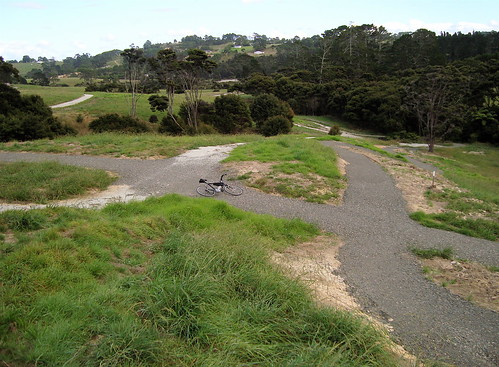 Sanders Reserve Trail Intersection