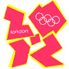 animated London Olympics logo