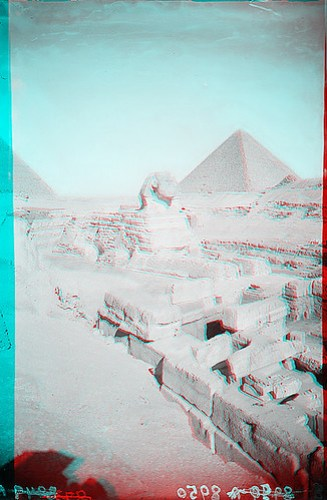 Sphinx with Pyramids 1
