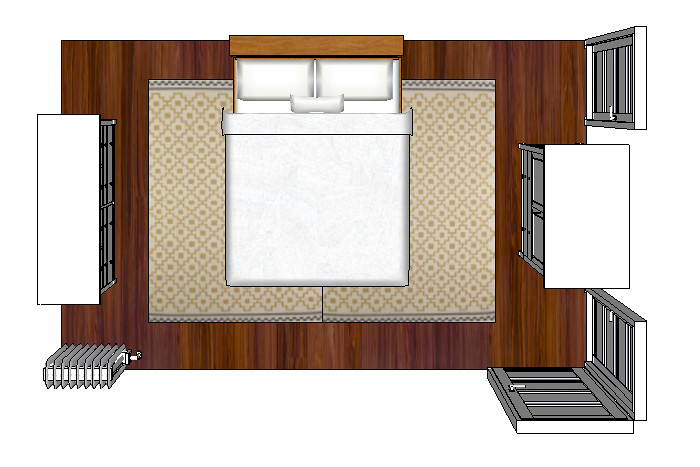 BedroomSketchUp