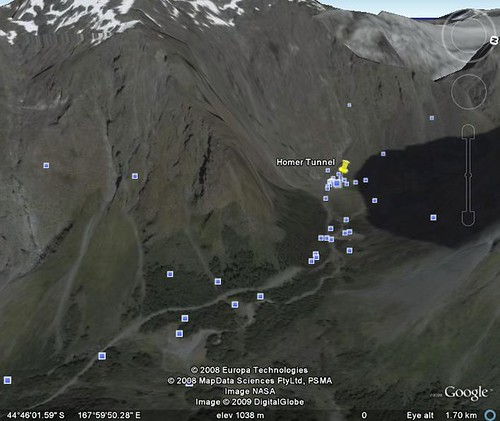 google earth milford sound 4