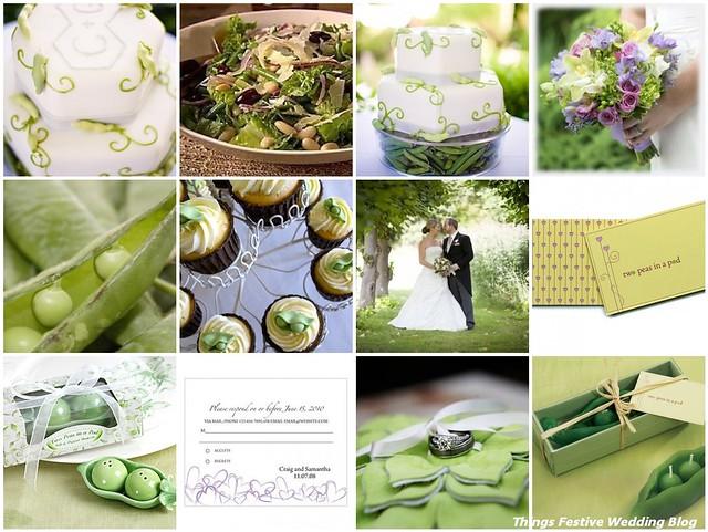 Two Peas In A Pod Wedding Theme