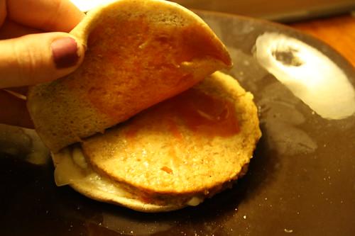 Boca cheeseburger, swiss cheese