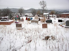 Las Cruces Cemetery of Taos