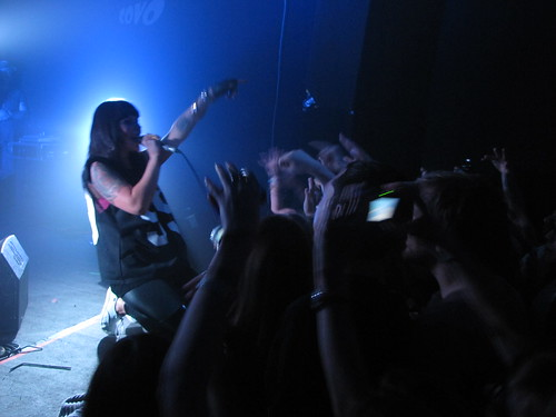 Sleigh Bells, live at Covo Club