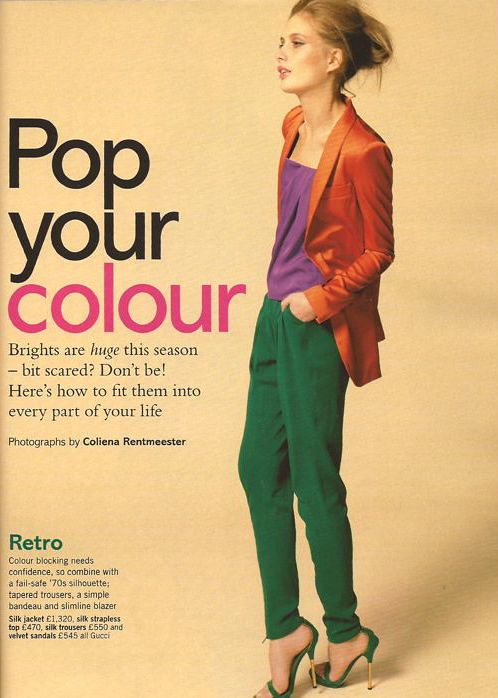 Glamour March 2011 Pop your colour editorial 4
