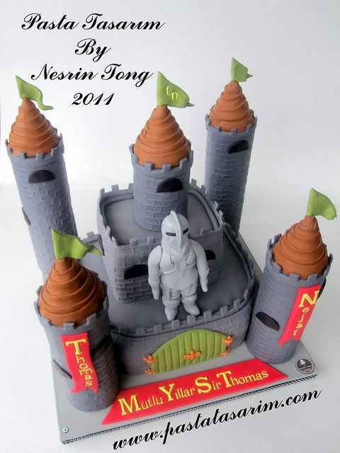 CASTLE CAKE - THOMAS NEJAT BIRTHDAY CAKE