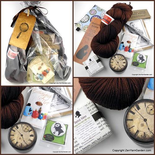Victorian Writers Knitting Club - Sherlock Holmes Package