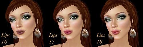 Chaisuki Paris lips 16-18