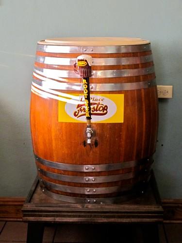 Vintage Frostop Root Beer Barrel