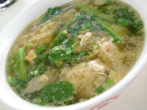 Jalan Alor pork noodles - clear soup