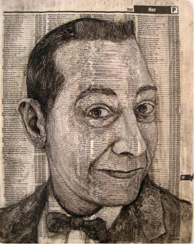 Alex Queral Book Carvings 4 Pee Wee Herman