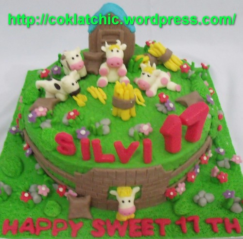 Farm Cake Dan Sapi Silvi Jual Kue Ulang Tahun