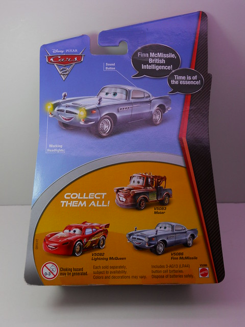 disney cars 2 lights and sounds cardback