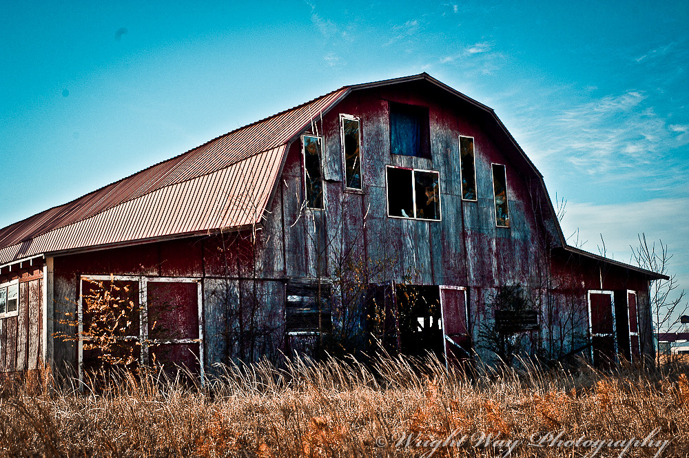 old barn in Conway,AR