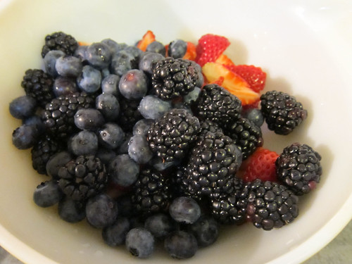 Berries: Black, Blue and Straw