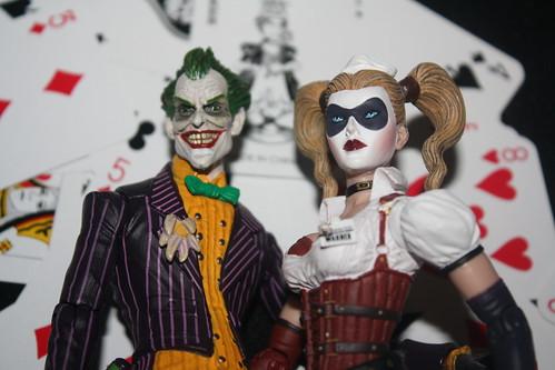 Arkham Asylum - Joker & Harley Quinn