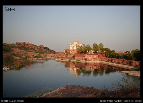 Reflections of Jaswant Thada
