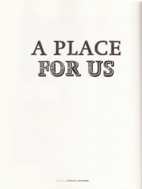A Place For Us- Monki Magazine