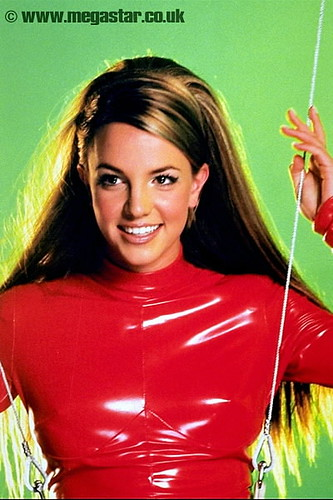 Britney Spears Red Jumpsuit Costume