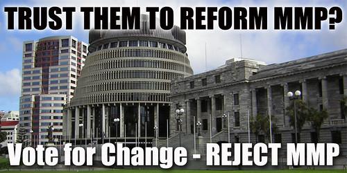 Trust Politicians? Reject MMP