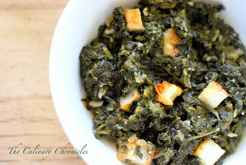 Saag Aloo (Spinach and Potatoes Curry)