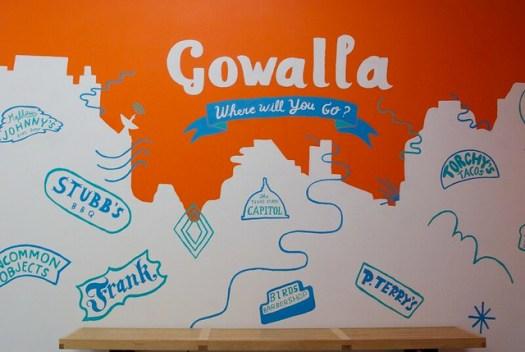 Gowalla Mural