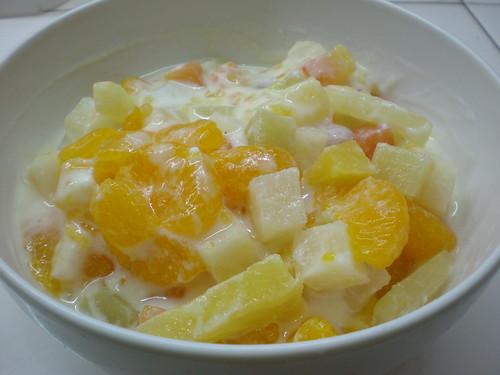 fruit salad, so yummy!