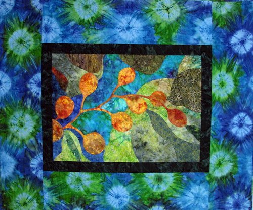 Kelp Forest, May 2011 Gallery Exhibit @Quiltworks