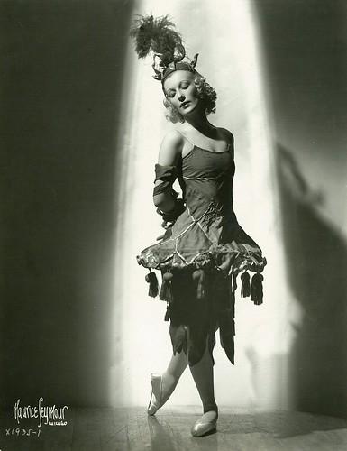 Tatiana Riabouchinska, ballerina, ca. 1938 / p...