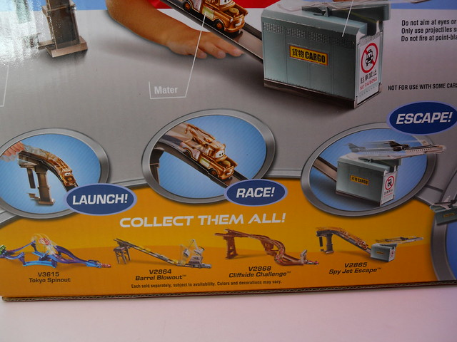 disney cars 2 spy jet escape track set (4)