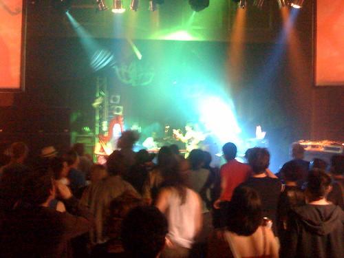 Shadow orchestra Bristol crowd